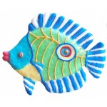 "Butterfly Fish, Tropical Sun, 8""L x 6.25""H, $28.00"