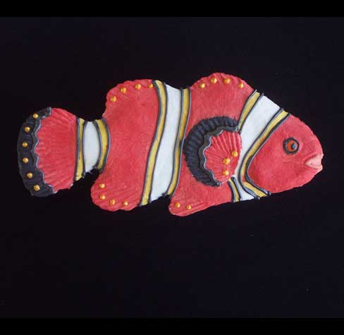 "Clown Fish, Nature's Pallet, 9.5""L x 4.5""H, $23.00"