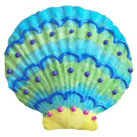 "Scallop, Seaside, 4.5""W x 4""H, $12.95"