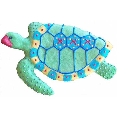 "Sea Turtle, Tropical Sun, 10.75""L x 6.75""H, $30.00"