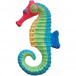 "Sea Horse, Tropical Sun, 6.25W x 11""H, $32.00"