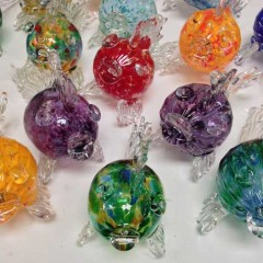 Rich Fizer art glass made in Florida