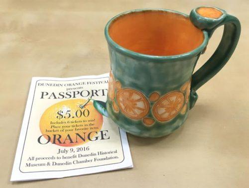 Orange Festival Mug