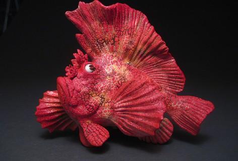 Gallery Reception for Alan Bennett's Fish Art January 14, 2017
